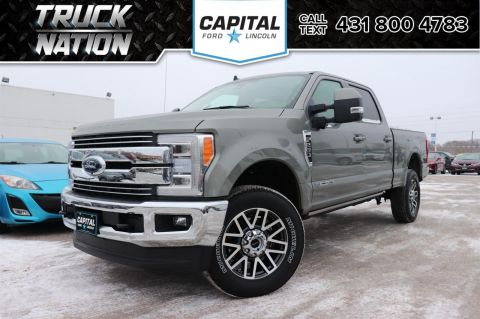 New 2019 Ford Super Duty F-250 SRW LARIAT Crew *Twin Panel Moonroof* *Towing Tech Bundle* *Quad LED's* *Power Running Boards*