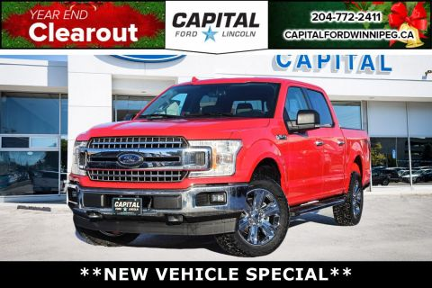 New 2018 Ford F-150 XTR*REMOTE START*NAVIGATION*$13 500 SAVINGS