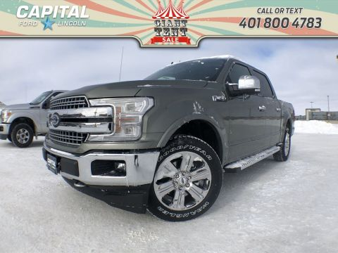 New 2019 Ford F-150 LARIAT*5.0L*Navigation*Heated Seats*Moonroof