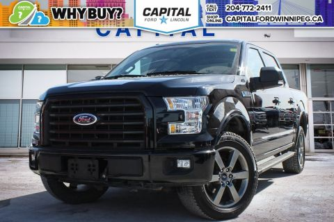Pre-Owned 2016 Ford F-150 XLT SuperCrew w/ NAVIGATION & BACK UP CAMERA