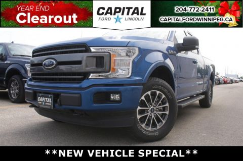 New 2018 Ford F-150 XLT*Sport Appearance Pkg*2.7L*Tow Package