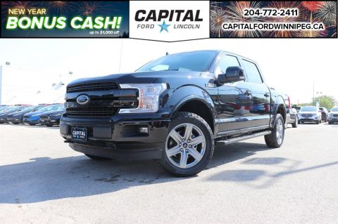 New 2018 Ford F-150 LARIAT*NAV*DIESEL*SPORT*HEATED SEATS