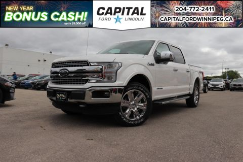 New 2018 Ford F-150 LARIAT*NAV*DIESEL*HEATED SEATS