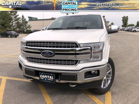 New 2019 Ford F-150 LARIAT*Diesel*Moonroof*Chrome Pkg*Level Kit