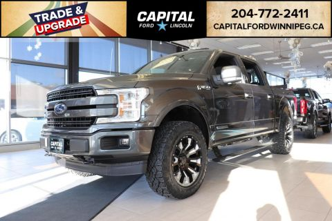 New 2018 Ford F-150 LARIAT*DIESEL*LEVEL KIT*NAV*XPEL PROTECTION