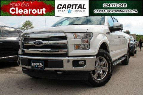 Pre-Owned 2017 Ford F-150 LARIAT FX4 LOCAL LEASE RETURN NAV BLIS SYNC CONNECT