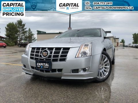Pre-Owned 2013 Cadillac CTS Sedan Premium AWD LOCAL TRADE NAV SUNROOF