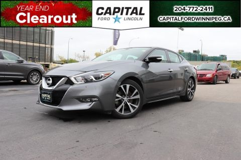 Pre-Owned 2017 Nissan Maxima SL LEATHER ROOF NAV REMOTE START