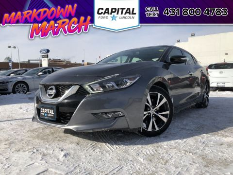 Pre-Owned 2017 Nissan Maxima SL CLEARANCE PRICED LEATHER NAV SUNROOF