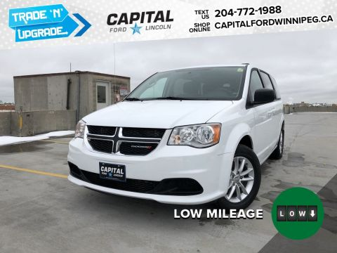 Pre-Owned 2018 Dodge Grand Caravan SXT PLUS, DVD, STOW N GO