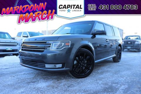 Pre-Owned 2018 Ford Flex Limited AWD 7 SEATER AC LEATHER SUNROOF NAV