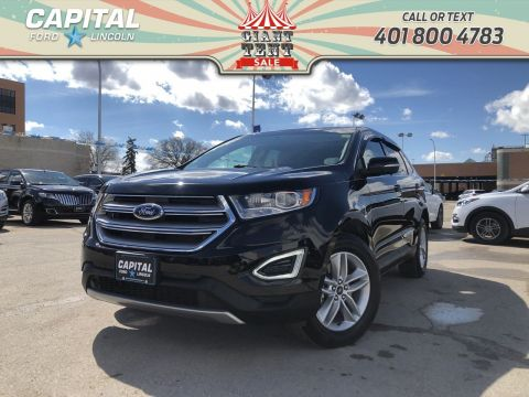 Pre-Owned 2017 Ford Edge SEL AWD LOCAL LEASE RETURN LEATHER SUNROOF NAV