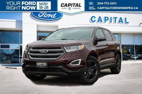 New 2018 Ford Edge SEL Sport Utility With Navigation & AWD