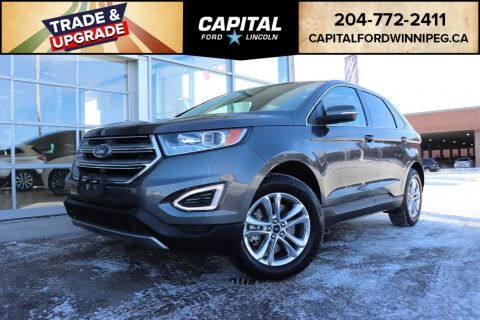 Pre Owned  Ford Edge Sel Awd Leather Sunroof Nav Remote Start