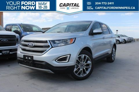 New 2018 Ford Edge Titanium Sport Utility With Navigation & AWD