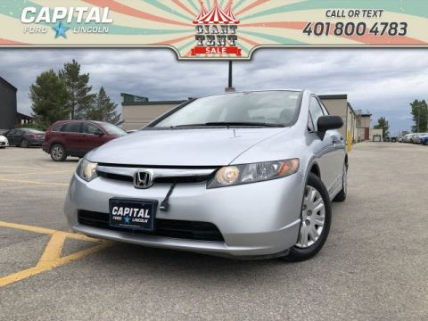 Pre-Owned 2007 Honda Civic Sdn FRESH LOCAL TRADE NO ACCIDENTS!