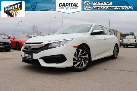 Pre-Owned 2017 Honda Civic Sedan EX W/ HEATED SEATS / REMOTE START / REVERSE CAM