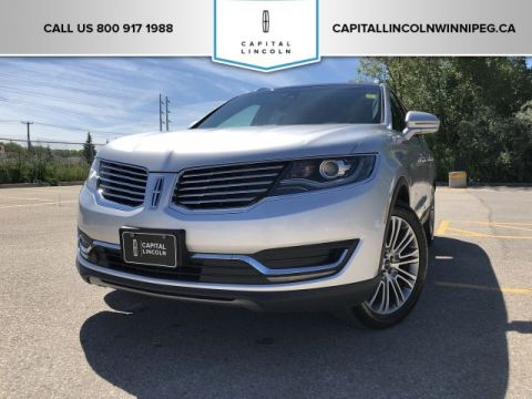 Pre-Owned 2017 Lincoln MKX Reserve AWD LOCAL LEASE RETURN MASSAGE SEATS