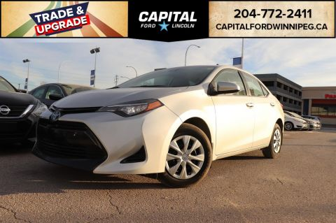 Pre-Owned 2017 Toyota Corolla LE TOYOTA SAFETY SENSE BLUETOOTH
