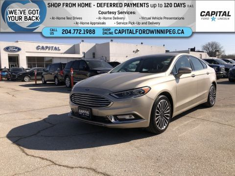 Pre-Owned 2018 Ford Fusion Titanium AWD Ask About 2.9% Rate