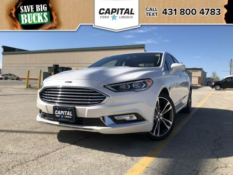Pre-Owned 2018 Ford Fusion Titanium AWD **New Arrival**