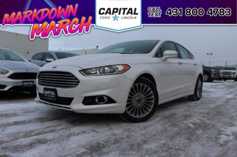 Certified Pre-Owned 2015 Ford Fusion Titanium AWD FORD CERTIFIED PRE-OWNED @ 2.9% OAC