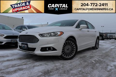 Pre-Owned 2015 Ford Fusion Titanium AWD LOCAL LEASE RETURN REMOTE START