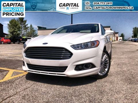 Pre-Owned 2016 Ford Fusion SE AWD