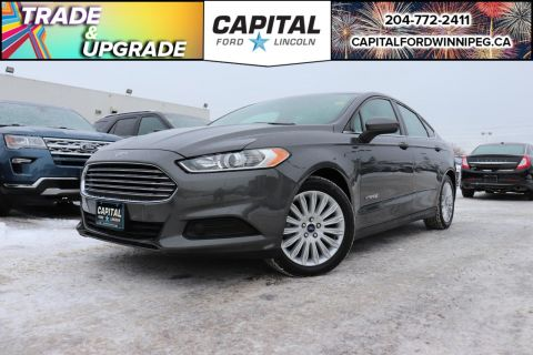 Pre-Owned 2015 Ford Fusion S Hybrid LOCAL OWNER TRADE AMAZING GAS MILEAGE