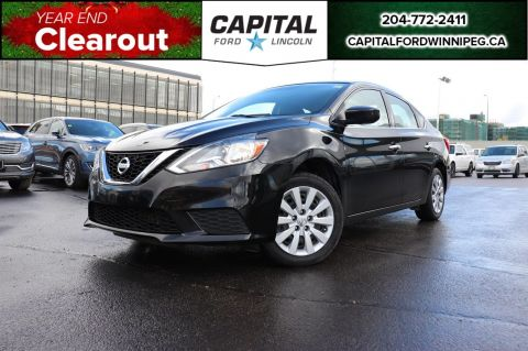 Pre-Owned 2016 Nissan Sentra S BLUETOOTH AC CRUISE