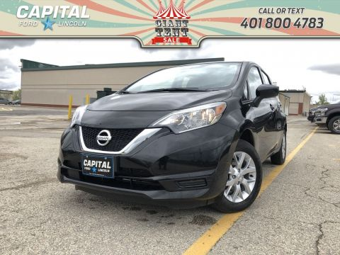 Pre-Owned 2018 Nissan Versa Note SV HB BACKUP CAM HEATED SEATS