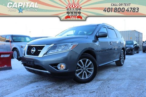 Pre-Owned 2015 Nissan Pathfinder SV 7 SEATER REMOTE START POWER TAILGATE HEATED STEERING