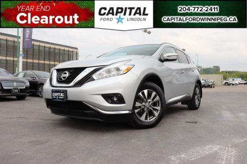 Pre-Owned 2017 Nissan Murano SV REMOTE START, SUNROOF, HTD STEERING