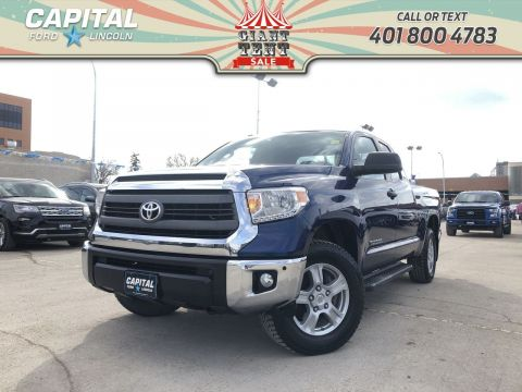 Pre-Owned 2014 Toyota Tundra SR5 AWD LOCAL TRADE REMOTE START TWO SETS OF WHEELS