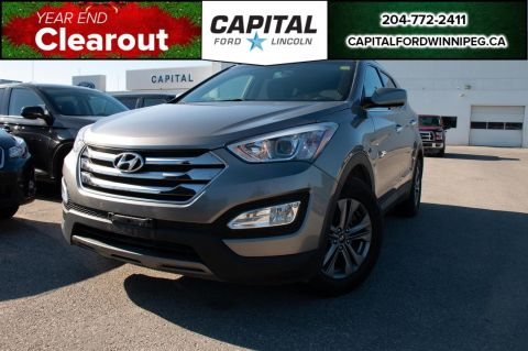 Pre-Owned 2016 Hyundai Santa Fe Sport Premium AWD LOCAL ONE OWNER TRADE ADAPTIVE CRUISE HTD STEERING