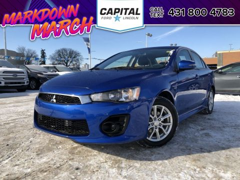 Pre-Owned 2017 Mitsubishi Lancer ES AWD BACKUP CAM HEATED SEATS