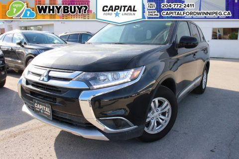 Pre-Owned 2017 Mitsubishi Outlander ES AWC BACKUP CAMERA BLUETOOTH