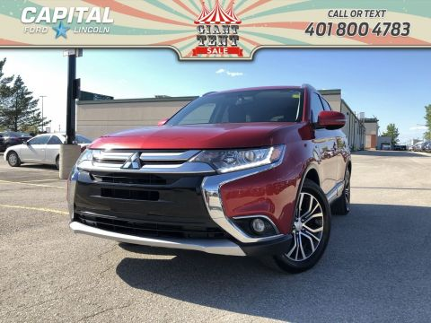 Pre-Owned 2016 Mitsubishi Outlander SE AWD 7 SEATER SUNROOF HEATED SEATS BACKUP CAM