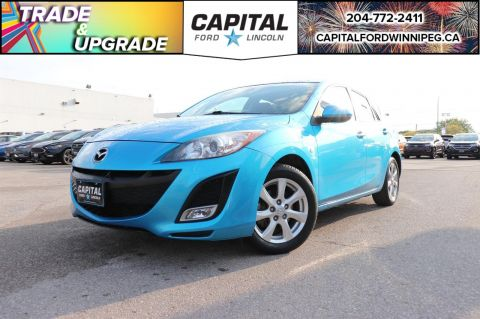 Pre-Owned 2010 Mazda3 GX HB FRESH TRADE - SUPER LOW MILEAGE