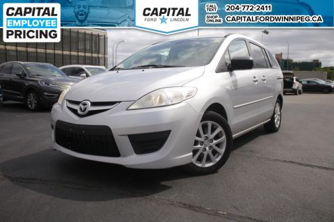 Pre-Owned 2008 Mazda5 GT W/ POWER MIRRORS & 3 ROW SEATING
