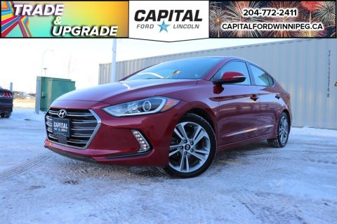 Pre-Owned 2018 Hyundai Elantra GLS W/ REVERSE CAM / SUNROOF / HEATED LEATHER