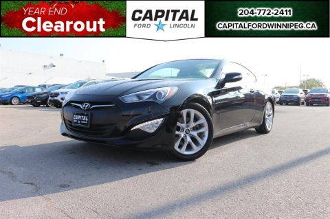 Pre-Owned 2015 Hyundai Genesis Coupe 3.8 AUTOMATIC LOCAL ONE OWNER TRADE LEATHER SUNROOF NAV