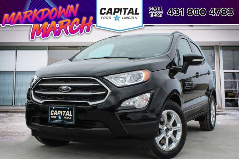 New 2018 Ford EcoSport SE*Navigation*Bluetooth*Moonroof*FWD