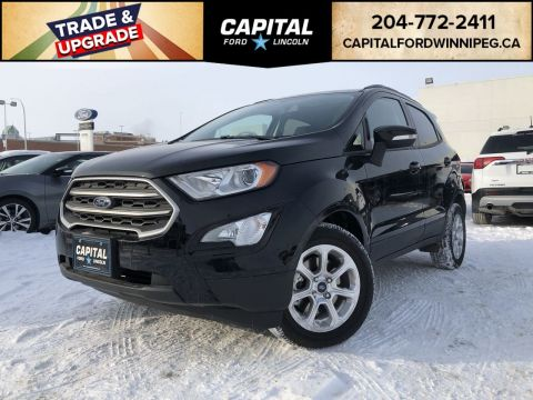 New 2018 Ford EcoSport SE*Moonroof*Bluetooth*Apple Car Play*Android Auto