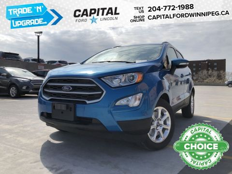 New 2019 Ford EcoSport SE*FWD*Navigation*Reverse Camera*Moonroof*Apple/Android Play
