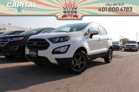 Pre-Owned 2018 Ford EcoSport SES 4WD BRAND NEW! LEATHER SUNROOF NAV