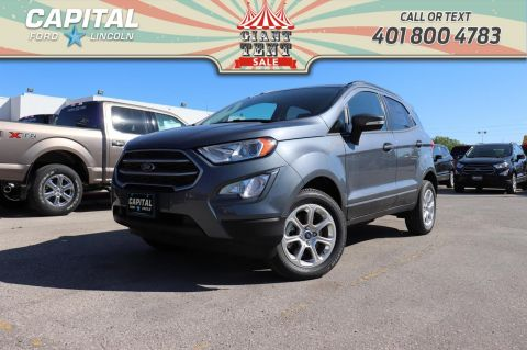 Pre-Owned 2018 Ford EcoSport SE*4WD*Navigation*Bluetooth*Moonroof