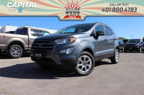 Pre-Owned 2018 Ford EcoSport SE 4WD BRAND NEW! NAV SUNROOF HTD SEATS