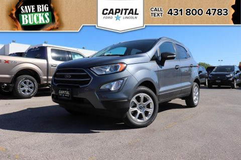 New 2018 Ford EcoSport SE*4WD*Navigation*Bluetooth*Moonroof