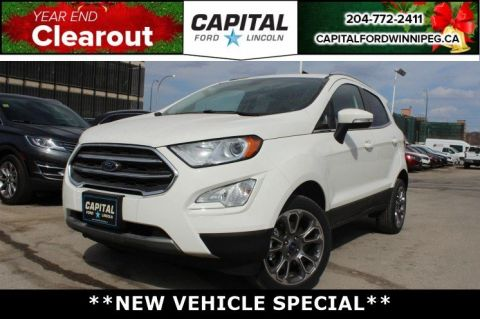 New 2018 Ford EcoSport SYNC CONNECT*NAVIGATION*TITANIUM